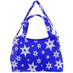 Star Background Pattern Advent Double Compartment Shoulder Bag