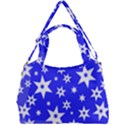Star Background Pattern Advent Double Compartment Shoulder Bag View1
