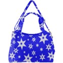 Star Background Pattern Advent Double Compartment Shoulder Bag View2