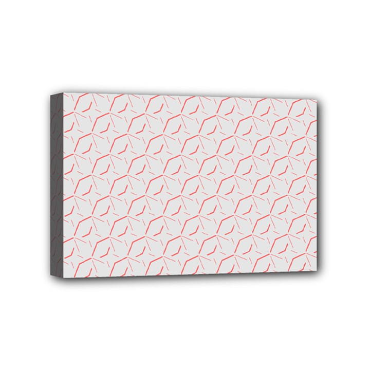 Wallpaper Abstract Pattern Graphic Mini Canvas 6  x 4  (Stretched)