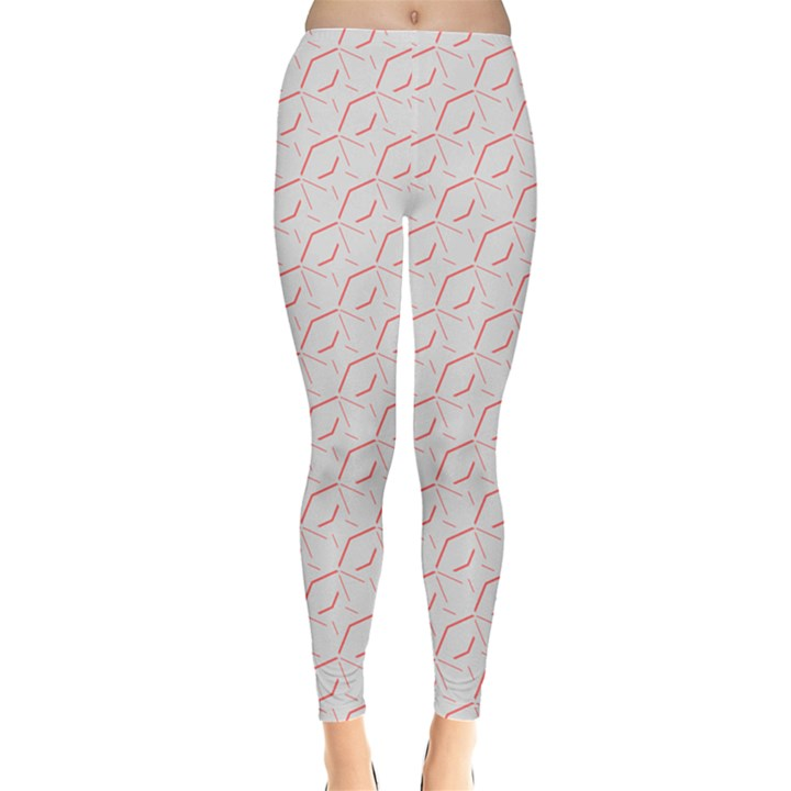 Wallpaper Abstract Pattern Graphic Leggings