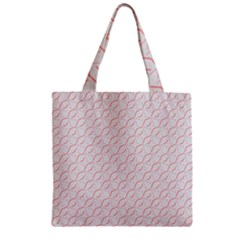 Wallpaper Abstract Pattern Graphic Zipper Grocery Tote Bag by HermanTelo