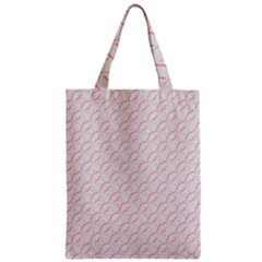 Wallpaper Abstract Pattern Graphic Zipper Classic Tote Bag by HermanTelo