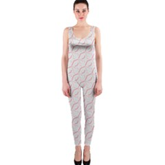 Wallpaper Abstract Pattern Graphic One Piece Catsuit by HermanTelo