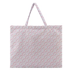 Wallpaper Abstract Pattern Graphic Zipper Large Tote Bag by HermanTelo