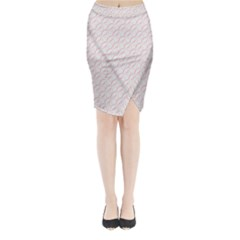 Wallpaper Abstract Pattern Graphic Midi Wrap Pencil Skirt