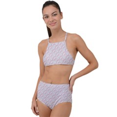 Wallpaper Abstract Pattern Graphic High Waist Tankini Set