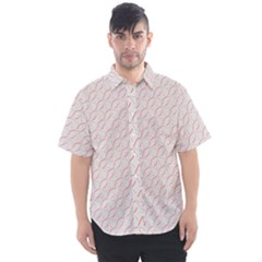 Wallpaper Abstract Pattern Graphic Men s Short Sleeve Shirt by HermanTelo