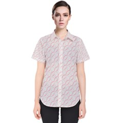 Wallpaper Abstract Pattern Graphic Women s Short Sleeve Shirt by HermanTelo