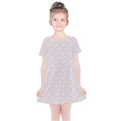 Wallpaper Abstract Pattern Graphic Kids  Simple Cotton Dress