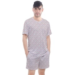 Wallpaper Abstract Pattern Graphic Men s Mesh Tee And Shorts Set by HermanTelo