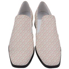 Wallpaper Abstract Pattern Graphic Slip On Heel Loafers