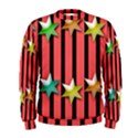 Star Christmas Greeting Men s Sweatshirt View1