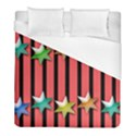 Star Christmas Greeting Duvet Cover (Full/ Double Size) View1