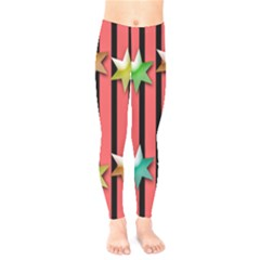 Star Christmas Greeting Kids  Legging
