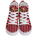 Star Christmas Greeting Kids  Hi-Top Skate Sneakers View1
