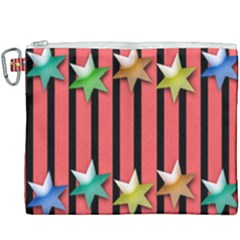 Star Christmas Greeting Canvas Cosmetic Bag (xxxl) by HermanTelo