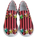Star Christmas Greeting Women s Lightweight Slip Ons View1