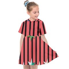 Star Christmas Greeting Kids  Sailor Dress by HermanTelo