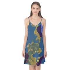 Map Geography World Camis Nightgown by HermanTelo