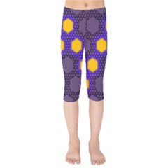 Communication Network Digital Kids  Capri Leggings  by HermanTelo