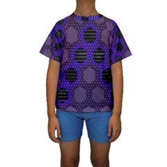 Networking Communication Technology Kids  Short Sleeve Swimwear