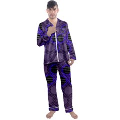 Networking Communication Technology Men s Satin Pajamas Long Pants Set