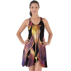 Zodiac Horoscope Astrology Show Some Back Chiffon Dress