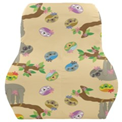 Sloth Neutral Color Cute Cartoon Car Seat Back Cushion