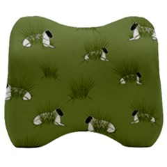 Sheep Lambs Velour Head Support Cushion