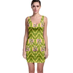 Texture Nature Erica Bodycon Dress