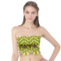 Texture Nature Erica Tube Top by HermanTelo