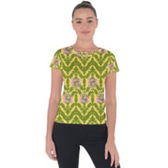 Texture Nature Erica Short Sleeve Sports Top