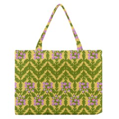 Texture Nature Erica Zipper Medium Tote Bag