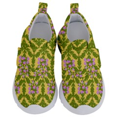 Texture Nature Erica Kids  Velcro No Lace Shoes by HermanTelo