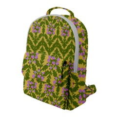 Texture Nature Erica Flap Pocket Backpack (large) by HermanTelo