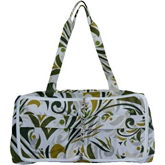 Modern Floral Pattern Multi Function Bag by tarastyle