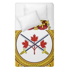 Badge Of The Canadian Army Duvet Cover Double Side (single Size) by abbeyz71
