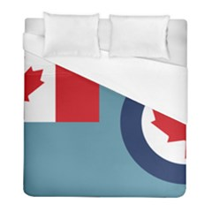 Air Force Ensign Of Canada Duvet Cover (full/ Double Size) by abbeyz71