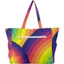 Background Rainbow Colors Colorful Simple Shoulder Bag View3
