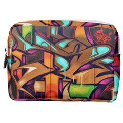 Graffiti Mural Street Art Wall Art Make Up Pouch (medium)