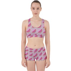 Melons Pattern Food Fruits Melon Work It Out Gym Set