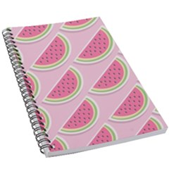 Melons Pattern Food Fruits Melon 5 5  X 8 5  Notebook