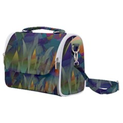Mountains Abstract Mountain Range Satchel Shoulder Bag