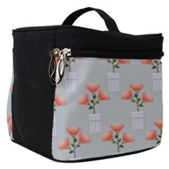 Pattern Non Seamless Floral Flowers Make Up Travel Bag (small)