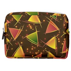 Background Non Seamless Pattern Make Up Pouch (medium)