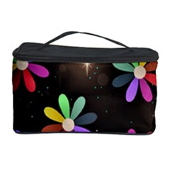 Illustrations Background Floral Flowers Cosmetic Storage