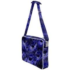 Peacock Feathers Color Plumage Cross Body Office Bag