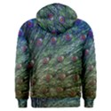 Peacock Feathers Colorful Feather Men s Overhead Hoodie View2