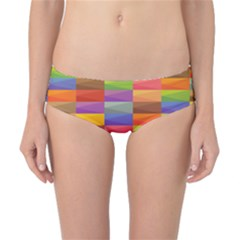 Abstract Background Geometric Classic Bikini Bottoms by Mariart